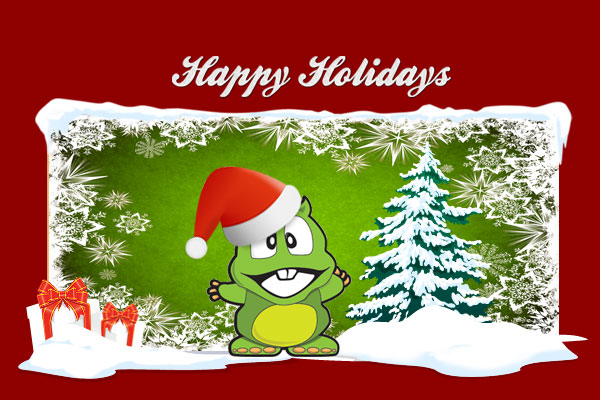 Christmas Dino 2012